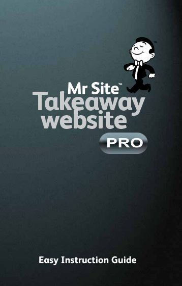Takeaway Website Pro - Mr Site