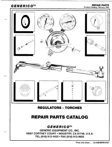 Generico - 1994 - Repair Parts Catalog - Law Supply - Home Page