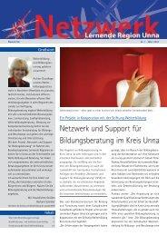 PDF zum Download - Newsletter - Lernende Region Unna
