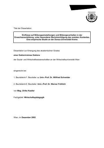 Download (2930Kb) - Wirtschaftsuniversität Wien