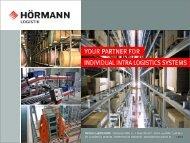 Warehouse logistics system - Hörmann Logistik GmbH