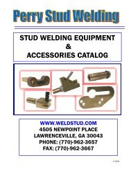 Perry Stud Welding Catalog w-o prices 6-9-08