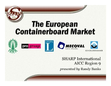 European Containerboard Update (317kb)