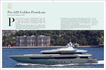 Pro 620 Golden Proteksan - Selahattin Üldas - Yacht Designer