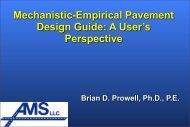 Brian Prowell- Advanced Materials Services, LLC Auburn, Ala