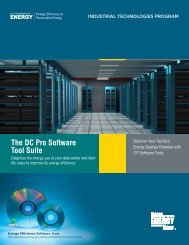 The DC Pro Software Tool Suite - EERE