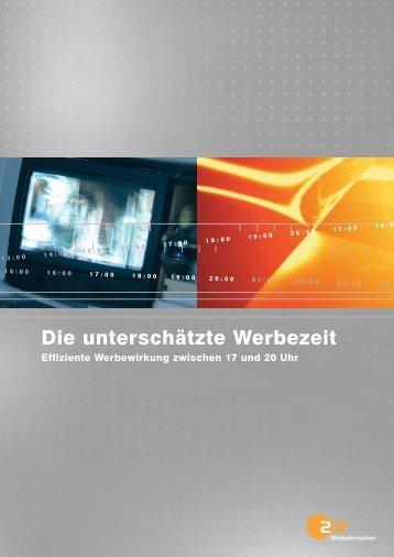 Die unterschätzte Werbezeit - ZDF Werbefernsehen