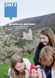 2011 Annual Report on Sustainable Development of Swiss
