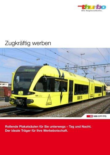 Zugwerbung - Schüttkörbe - 12.2012 - Thurbo