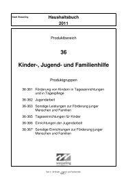 36 Kinder-, Jugend- und Familienhilfe - Stadt Wesseling