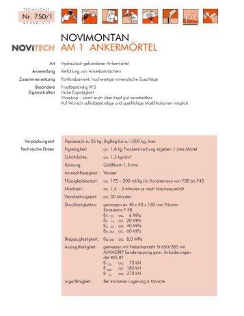 NOVIMONTAN AM 1 - Schretter & CIE