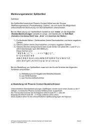 Markierungsmaterial - PHOENIX CONTACT