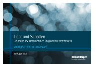 Licht und Schatten - Roland Berger