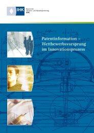 Patentinformation – Wettbewerbsvorsprung im ... - IHK Niederbayern