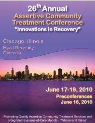 26 Annual - Assertive Community Treatment Association