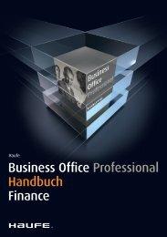 Business Office Professional Handbuch Finance - iDesk2 - Haufe.de