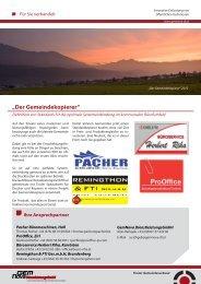 """""""Der Gemeindekopierer"""" - GemNova"""