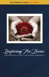 Professionlism Office: Inspiring Pro Bono Booklet - Thomas M ...