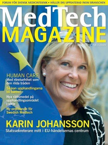 karin johansson - Medtech Magazine