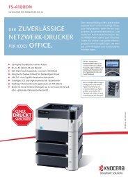 Kyocera FS-4100DN - Drucker Kopierer Fax