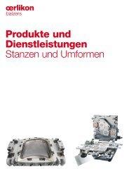 Produkte und Dienstleistungen Stanzen und Umformen