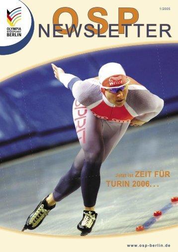 Newsletter 1-2005 - Olympiastützpunkt Berlin