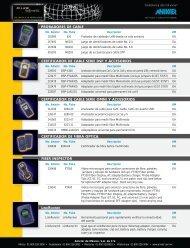 probadores de cable certificador de cable serie dsp y accesorios ...