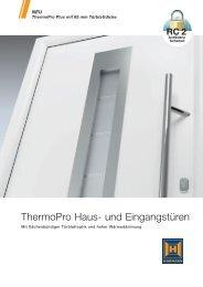 ThermoPro Haus- und Eingangstüren - Hörmann KG