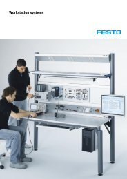 Workstation systems - Festo Didactic