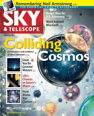 Sky & Telescope Magazine December 2012 - TuLaTri.com