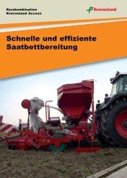 Schnelle und effiziente Saatbettbereitung