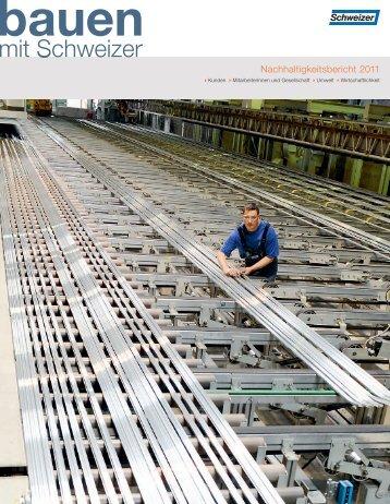 Nachhaltigkeitsbericht 2011 - Schweizer Metallbau