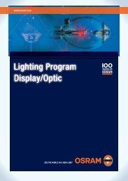Lighting Program Display/Optic - Osram
