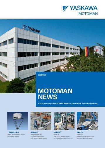 MOTOMAN NEWS