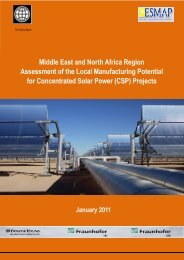 Middle East and North Africa Region Assessment of - Arab World ...