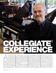 collegiate experience - Music Inc. Magazine