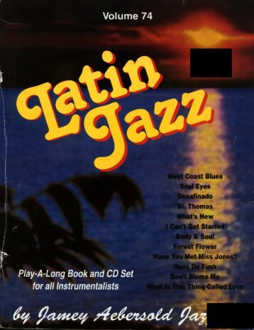 Vol 074 - Latin Jazz..