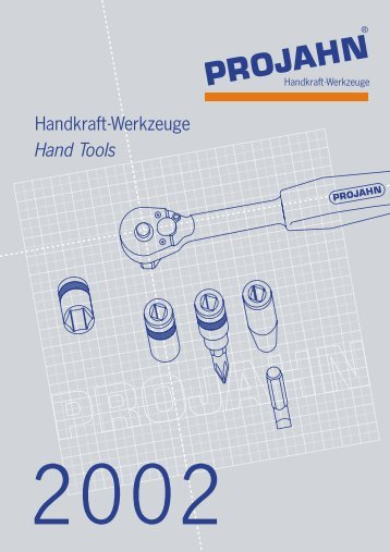 Handkraft-Werkzeuge Hand Tools - ATV Elmer GmbH & Co. KG