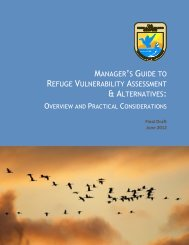 A Manager's Guide to Refuge Vulnerability Assessment and