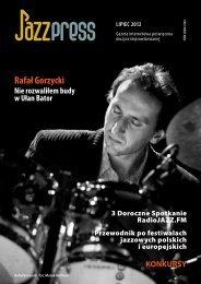 JazzPRESS, lipiec 2012 - Facebook
