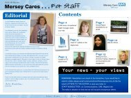 Issue 19 - May 2012 - Mersey Care NHS Trust