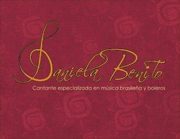 Book Daniela Benito
