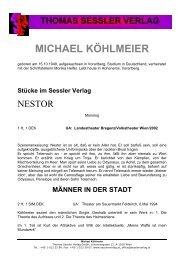 MEIN PRIVATES GLÜCK - THOMAS SESSLER - Verlag