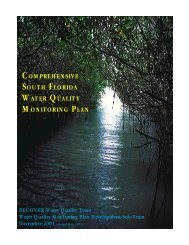 Comprehensive South Florida Water Quality Monitoring Plan, 2002
