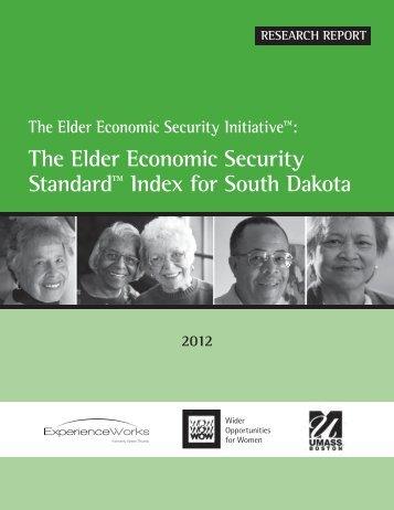 The Elder Economic Security Standard™ Index for South Dakota