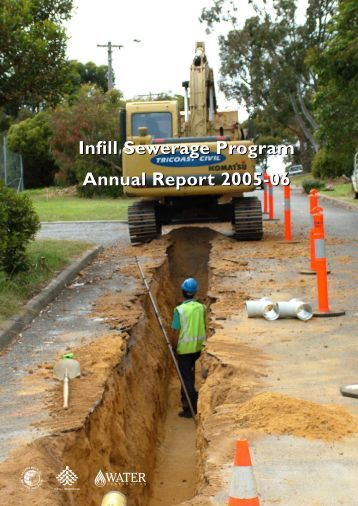 Infill Sewerage Program Annual Report 2005-06 - Water Corporation