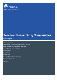 Teachers Researching Communities - Supporting Low SES School ...