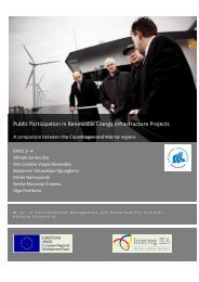 Public Participation in Renewable Energy Infrastructure Projects