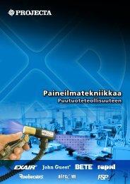 Paineilmatekniikkaa - Projecta - Projecta Oy