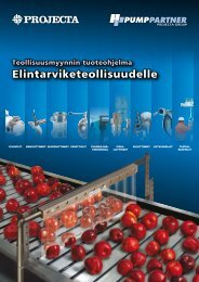 Elintarviketeollisuudelle - Projecta - Projecta Oy